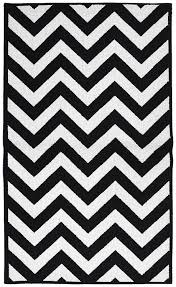 Area Rug Black And White Garland Rug Chevron Area Rug 5 By 7 Large