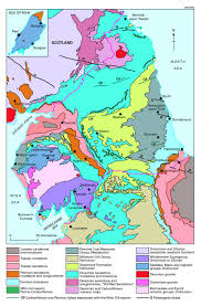 Map Of Southern England by Northern England U2013 Introduction To Geology Earthwise