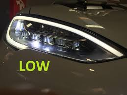 audi matrix headlights tesla model s led headlamp insight tesla motors club