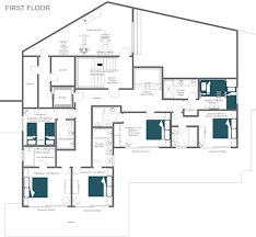 Duplex Layout Catered Ski Chalet Verbier Jupiter Duplex Apartment Leo Trippi