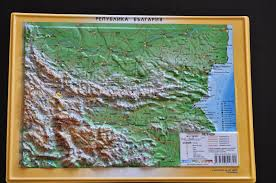Map Of Bulgaria Map Of Bulgaria Get A Relief Map Of Bulgaria