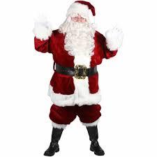 majestic santa suit s costume walmart