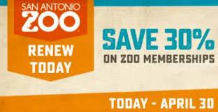 san antonio zoo lights coupon san antonio zoo one time membership renewal deal renew facebook