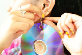cd earrings how to make cd earrings vripmaster