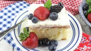 chantilly sheet cake southern plate
