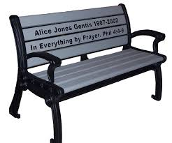 Engraved Benches Park Bench Prices Emerald Park Memorial Bench Occ Outdoors