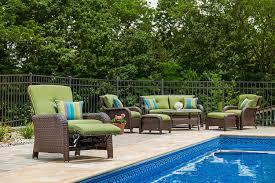 Martha Stewart Resin Wicker Patio Furniture - amazon com la z boy outdoor sawyer resin wicker patio furniture