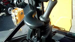 case victoria case 590st backhoe loader interior youtube