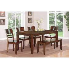espresso dining room sets dining tables black dining table and chairs kitchen with bench