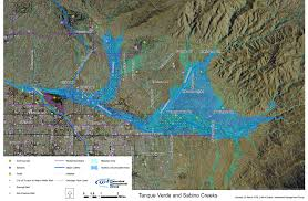 Map Of Phoenix Metro Area by Restore Sabino Creek Watershed Management Group