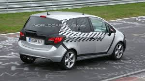 opel meriva opel meriva spied less disguised on the ring