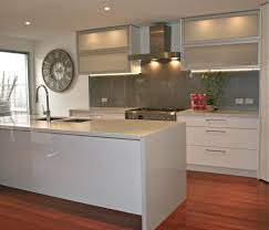 white kitchen glass backsplash kitchen black splashback google search home by design