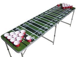 portable beer pong table the backyard site