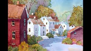 paint places joyce hicks aws original paintings of beautiful places youtube