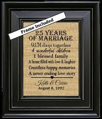 25th wedding anniversary gift plain 25th wedding anniversary gifts inspiring 4454 johnprice co