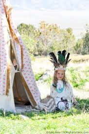 halloween costumes party ideas kara u0027s party ideas no sew diy sacagawea indian halloween costume