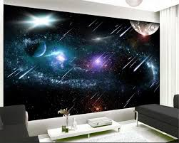 earth wallpaper promotion shop for promotional earth wallpaper on beibehang tapety advanced personality wallpaper meteor earth space galaxy wish tv background wall papel de parede 3d wallpaper