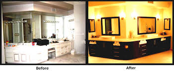Home Design Before And After References Small Remodeled Bathrooms Before And After U2013 Free