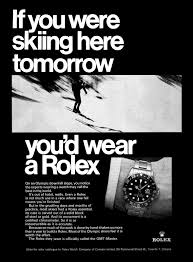 if you you u0027d wear a rolex u0027 adverts watches pinterest