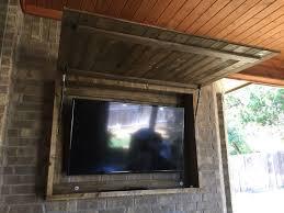 outdoor tv cabinet enclosure outdoor tv cabinet pinteres