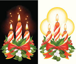 white candle black background clip art vector images