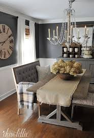 How To Decorate A Dining Room Table Unexpected Seating Like This Bench From Homegoods Help Add