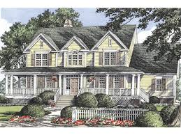 eplans farmhouse eplans farmhouse house plan vintage columns 2384 square