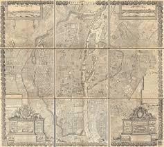 Map Of Paris France by File 1652 Gomboust 9 Panel Map Of Paris France C 1900 Taride