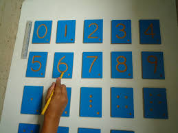 montessori letters numbers dots operation symbols tracing tiles