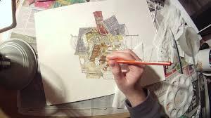 pixar u0027s u0027up u0027 carl u0027s house cross section timelapse youtube