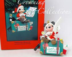enesco disney bound mickey suitcase ornament traveling