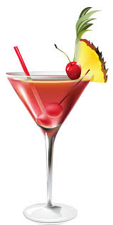 martini pineapple cocktail with pineapple png clipart picture clip art library
