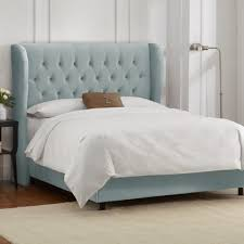 padded headboard full size bed innards interior