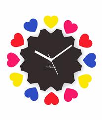 different types designer wall clocks noida for wall decor