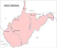 Ohio State Map With Cities by West Virginia State Map Map Of West Virginia And Information