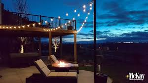 Patio Cafe Lights by Entertaining With Outdoor String Lights
