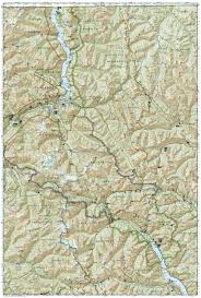 Uo Map North Cascades National Park National Geographic Trails