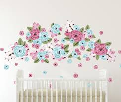 half order bubble gum graphic flowers wall decals urban walls half order bubble gum graphic flowers
