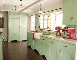 Mismatched Kitchen Cabinets Cabinets Painted Porters Calm Green Or Frosted Mint Backsplash