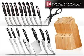 kitchen knives canada miracle blade world class knives by chef tony