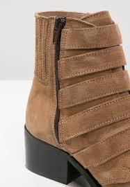 womens brown leather biker boots pavement shoes spain women ankle boots pavement puk cowboy