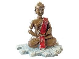 aqua spectra buddha statue aquarium ornament 8 x 7 x 11 cm