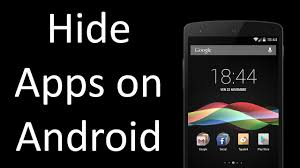 how to hide an app android hide apps on android without rooting