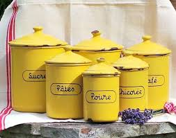antique canisters kitchen yellow kitchen canisters 129 best images on vintage