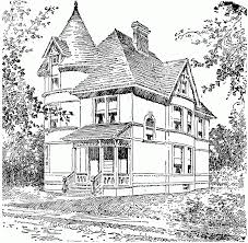 new coloring page victorian house coloring pages az coloring
