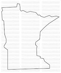 Minnesota State Map by Minnesota State Map Svg Png Jpg Vector Graphic Clip Art Minnesota