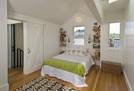 bedroom with sliding barn door contemporary bedroom san