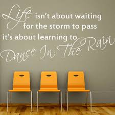 compare prices on inspiring sayings online shopping buy low price life is dance in the rain inspirational wall stickers quotes vinyl letterings sayings wall