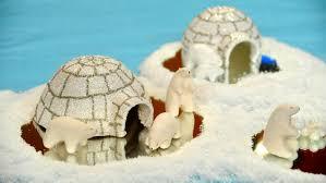 clay polar bears and igloo u0026 video martha stewart