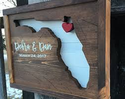 florida wood cutout etsy